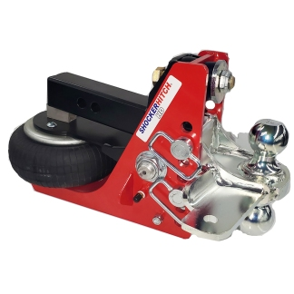 Shocker HD Air Hitch with Combo Ball & Sway Control Tabs