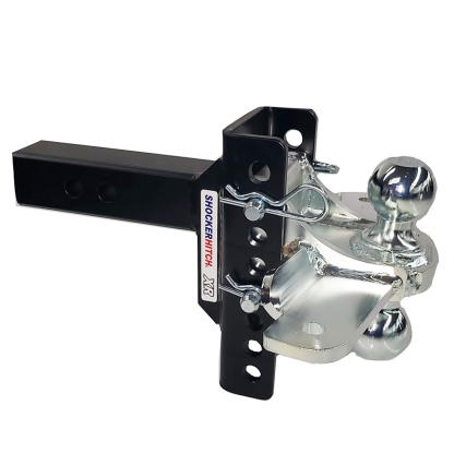 Shocker XR Combo Ball Mount with Sway Control Tabs