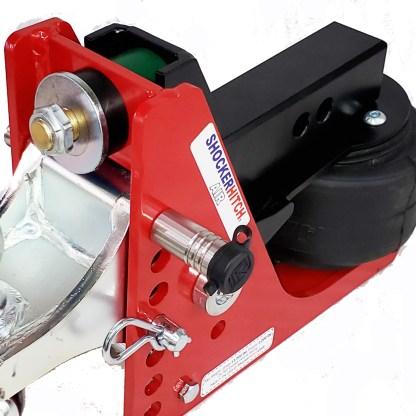 "Ball Mount Attachment Locking Pin - 5/8"" x 4-5/8"" L Span - Fits Shocker Hitch Base Frames"