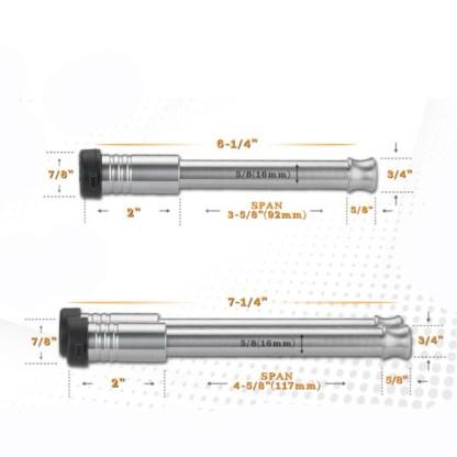 Shocker Locking Hitch Pin Dimensions