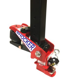 Gooseneck Surge Air Hitch Coupler for Square Stem
