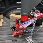 Shocker Gooseneck Surge Air Hitch Installed
