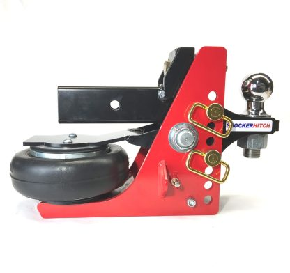 Shocker HD Air Receiver Hitch with Adjustable Standard Ball Mount