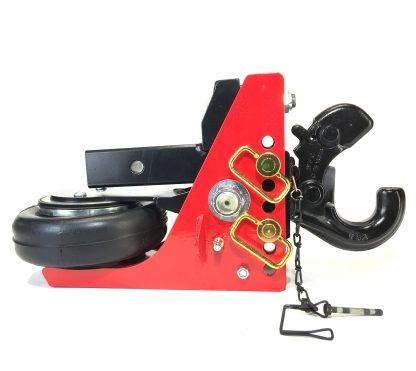 SHHD630200 Shocker HD Air Hitch w Pintle Hook Open