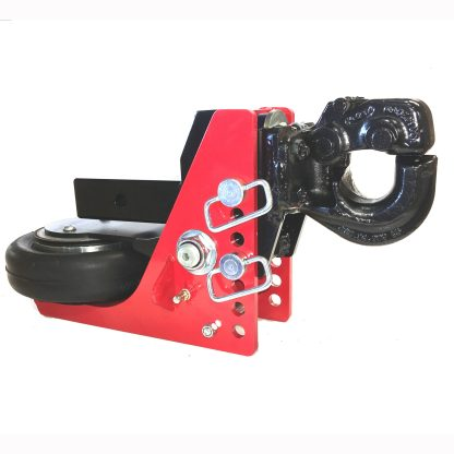Shocker HD Air Pintle Hitch with 03 of Drop