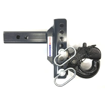 SHXR100330 Shocker XR Adjustable Pintle Hook Ball Mount Down