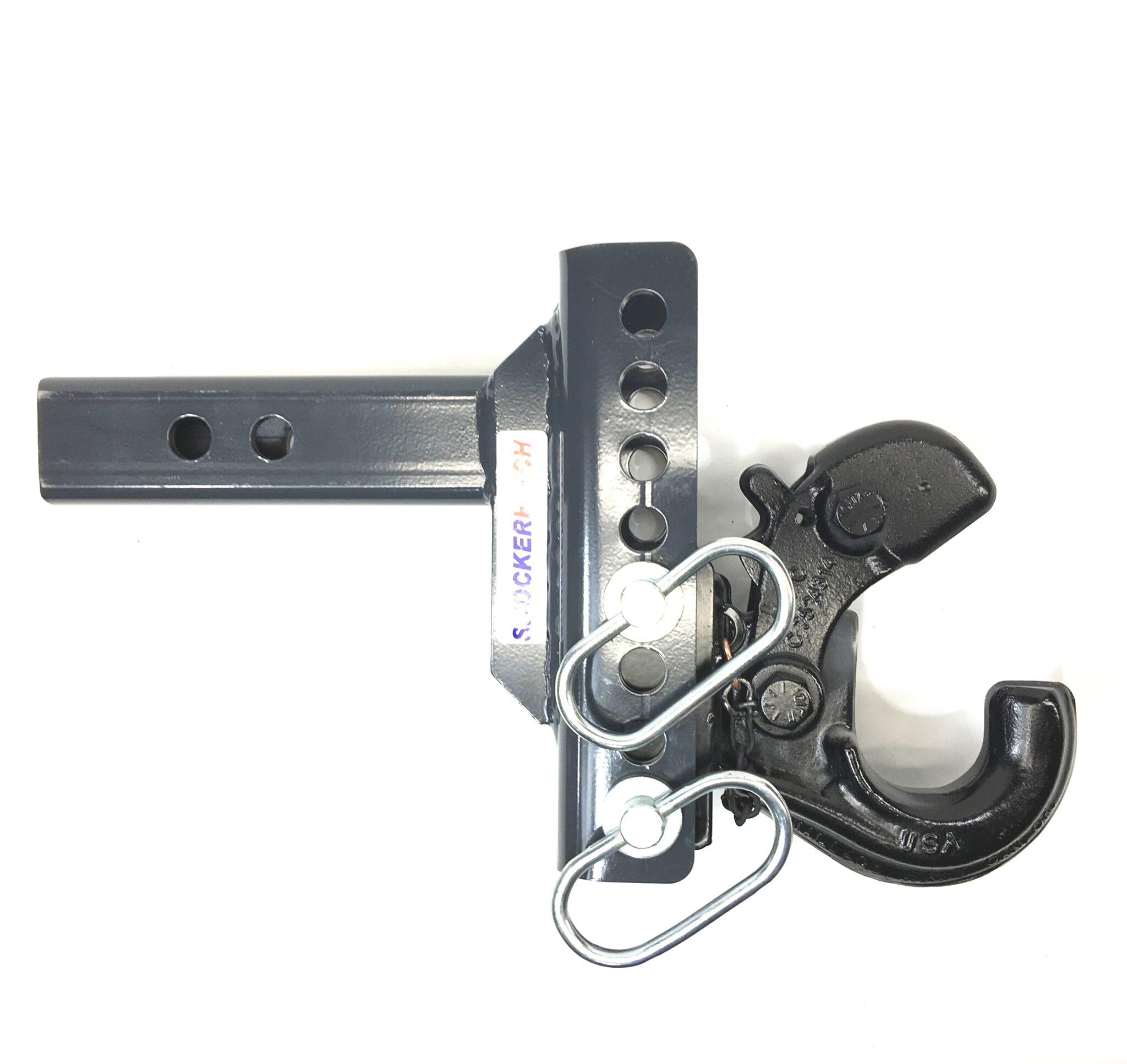 SHXR100330 Shocker XR Adjustable Pintle Hook Ball Mount Down Open