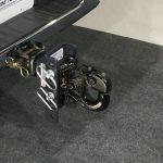 SHXR100330 Shocker XR Adjustable Pintle Hook Ball Mount Installed