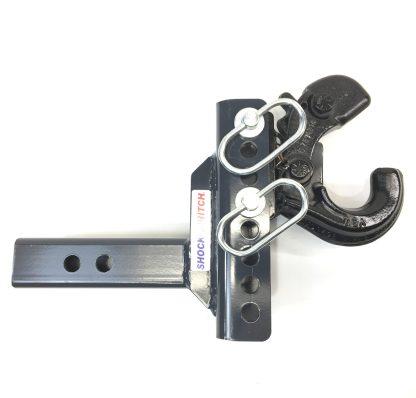 SHXR100330 Shocker XR Adjustable Pintle Hook Ball Mount Up Open