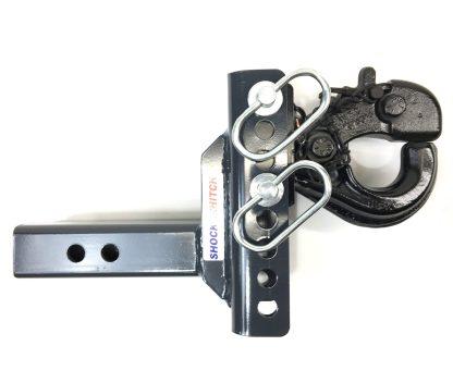 XR Adjustable Pintle Hook Ball Mount Up