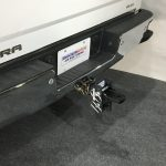 SH-XR100-350 Shocker XR Adjustable Drawbar Ball Mount Installed