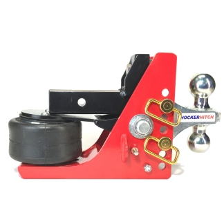 Shocker Air Hitch w Adjustable Combo Ball Mount