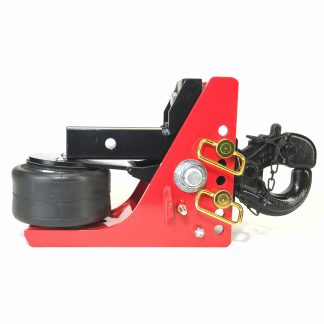 """Shocker Air Pintle Hitch with Pintle with 2-1/2"""" to 5-1/2"""" Drop"""