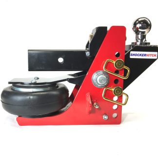Shocker HD Air Hitch with Raised Ball Mount 16K Capacity