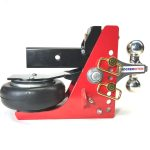 Shocker HD Air Hitch w Adjustable Combo Ball Mount