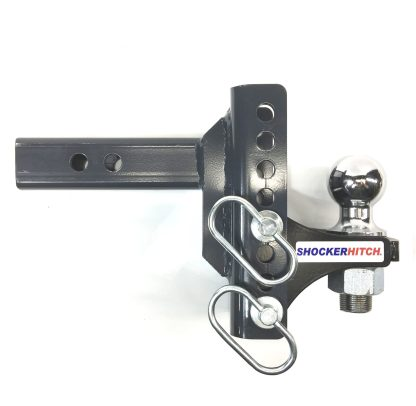 Shocker XR Adjustable Ball Mount with Hitch Ball