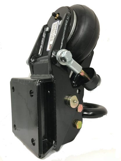 Shocker Air Trailer Tongue Mount Pintle Ring Square Plate Mount Rear View