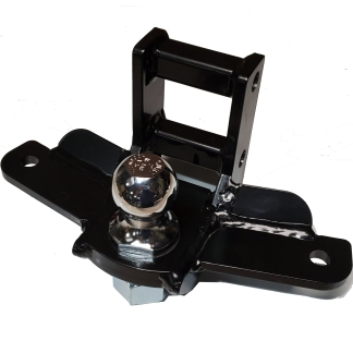 Shocker Drop Mount with Sway Control Tabs Ball