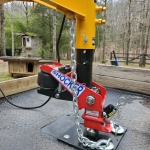 Gooseneck Air Hitch on Sure Trac Trailer