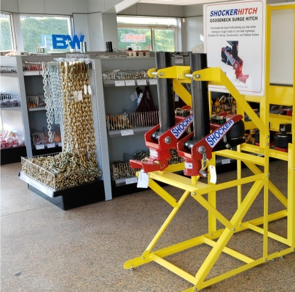 Showroom Display - Gooseneck Air Htiches