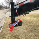 Shocker Gooseneck Surge on Trailer