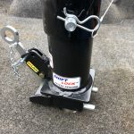 Shift Lock Gooseneck Coupler See Its Secured at a Glance