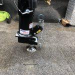 Shift Lock Gooseneck Coupler - Lowering onto Ball