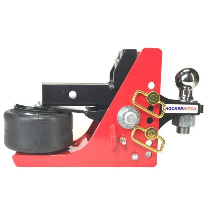 Shocker Air Hitch with Adjustable Ball Mount