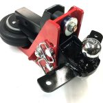 Shocker Air Hitch with Sway Control Combo Ball Mount