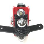 Shocker Air Hitch with Sway Bar Combo Ball Mount Top View