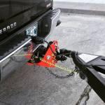 Shocker Air Hitch installed on Truck