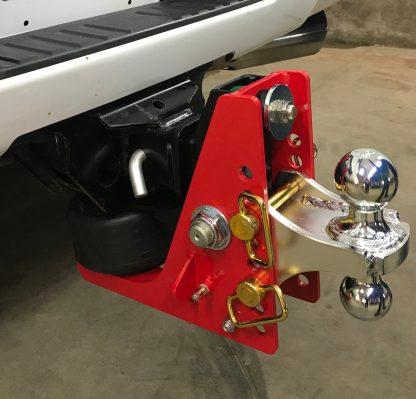 Shocker Air Hitch Installed