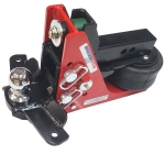 Shocker Air Hitch with Sway Control Drop Ball Mount