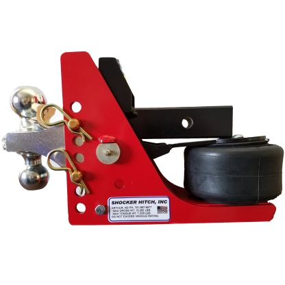 Shocker Air Hitch with Combo Ball Mount