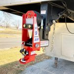 Shocker Gooseneck Surge Air Hitch with 9 Extension Install on Bravo Trailer