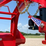 Shock Absorbing Hitch & Coupler for Diamond C Trailers