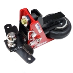 Shocker HD 16K Air Hitch with Sway Control Drop Ball Mount