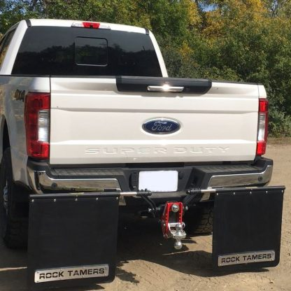 Shocker Impact with Towing Mud Flaps