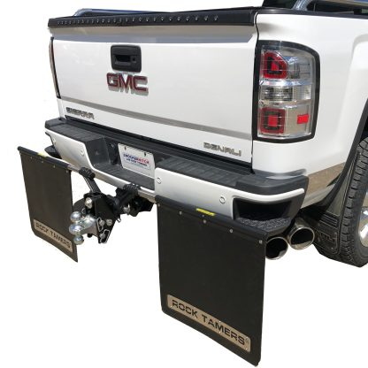 Shocker XRC works with Rock Tamer Hitch Mud Flaps
