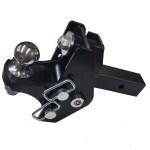 "Shocker XRC Adjustable Cushion Hitch Ball Mount 3-1/2 Rise to 3-1/2"" Drop"
